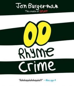 Rhyme Crime by Jon Burgerman