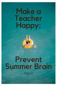 Prevent Summer Brain