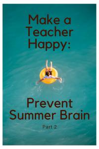 Prevent Summer Brain