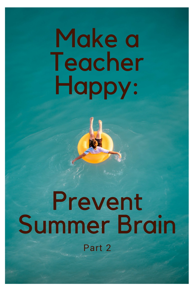 Make a Teacher Happy: Prevent Summer Brain (Part 2)! - TheReadathon